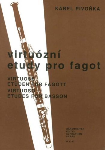Virtuoso Studies for Bassoon (Cz). : Bassoon: (Barenreiter)
