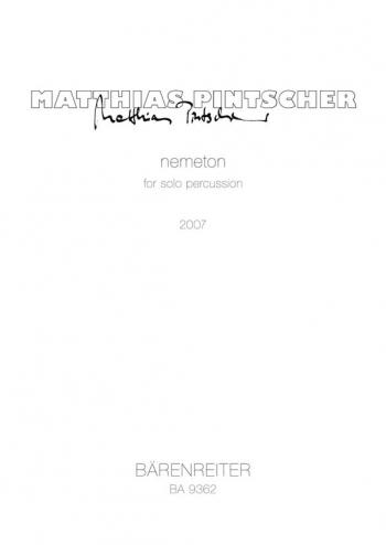nemeton (2007). : Percussion: (Barenreiter)