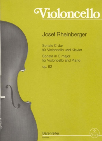 Sonata in C, Op.92. : Cello: (Barenreiter)