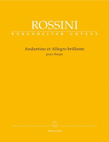 Andantino et Allegro brillante pour Harpe (Urtext). : Harp: (Barenreiter)