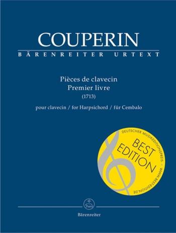 Pieces de clavecin (Premier livre) (Urtext). : Harpsichord: (Barenreiter)