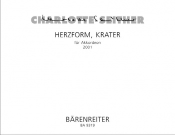 Herzform, Krater (2001). : Accordion: (Barenreiter)