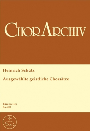 Selected Sacred Choral Settings (G). : Choral: (Barenreiter)