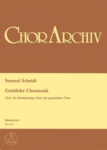 Sacred Choral Music. 12 Choral Movements for Mixed Chorus (G). : Choral: (Barenreiter)