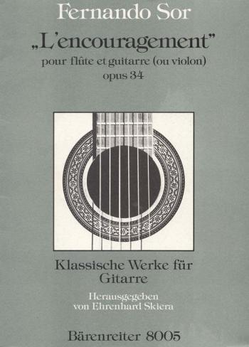 L'Encouragement, Op.34. : Mixed Ensemble: (Barenreiter)