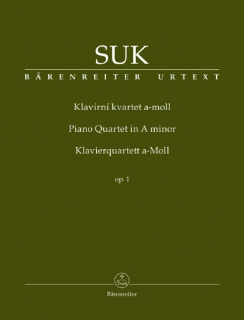Piano Quartet in A minor, Op.1 (Urtext). : Mixed Ensemble: (Barenreiter)