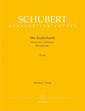 Rosamunde (Zauberharfe) Overture (D.644) (Urtext). : Large Score Paperback: (Barenreiter)