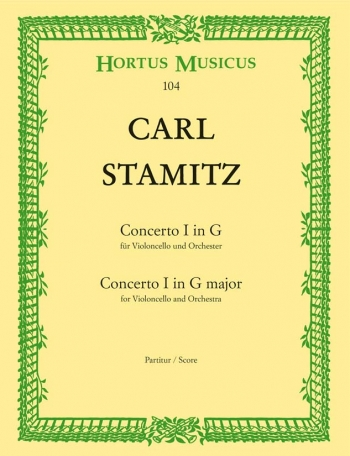 Concerto for Cello No.1 in G. : Large Score Paperback: (Barenreiter)