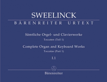 Organ and Keyboard Works Complete, Vol.1/1 (New Edition) (Urtext) Toccatas (Part 1).: Organ: (Barenr