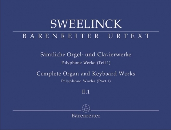 Organ and Keyboard Works Complete, Vol.2/1 (New Edition) (Urtext) Polyphonic Works (Part 1).: Organ: