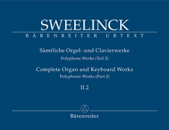 Organ and Keyboard Works Complete, Vol.2/2 (New Edition) (Urtext) Polyphonic Works (Part 2), Fantasi