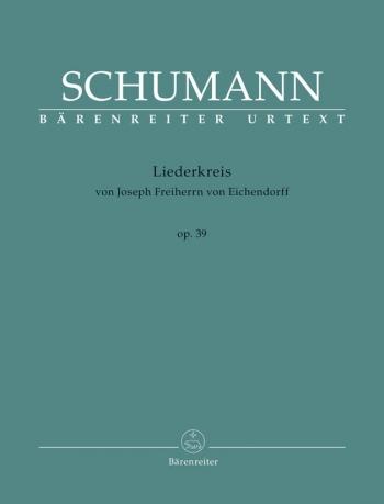Liederkreis, Op.39 (G) (Urtext). : Voice: (Barenreiter)