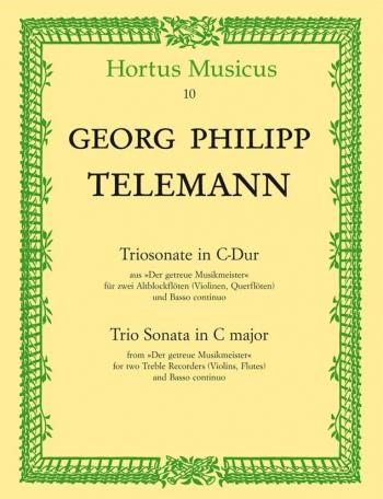 Trio Sonata in C (from Der getreue Musikmeister). : Mixed Ensemble: (Barenreiter)