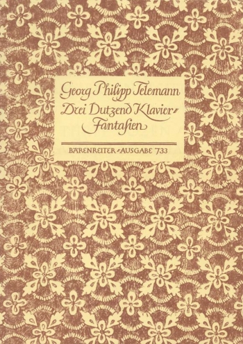 Fantasias (36) (TWV 33: 1-36). : Piano: (Barenreiter)