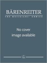 Sonata for Piano with Violin obbligato. : Violin & Piano: (Barenreiter)
