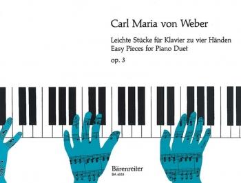 Easy Pieces, Op. 3. : Piano 4 hands: (Barenreiter)