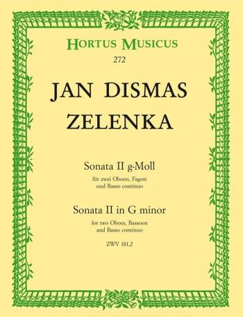 Sonata No.2 in G minor. : Mixed Ensemble: (Barenreiter)