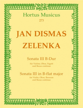 Sonata No.3 in B-flat. : Mixed Ensemble: (Barenreiter)