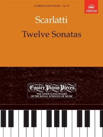 12 Sonatas For Piano Solo (ABRSM)
