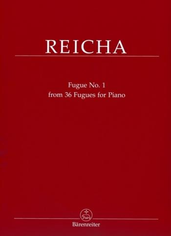 Fugue No.1 From 36 Fugues For Piano (Barenreiter)
