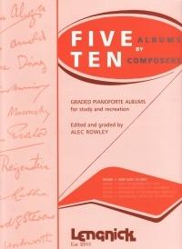 Five By Ten Grade 1: Piano  (Lengnick)