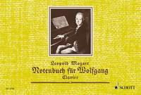 Note Book For Wolfgang: Piano (Schott)