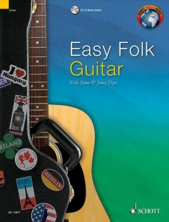 Easy Folk Guitar: 29 Traditional Pieces: Edition With CD English - French - German (Schott