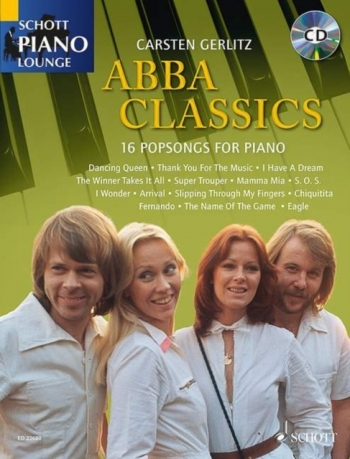 Schott Piano Lounge: Beatles Classics: Piano: Bk&cd (gerlitz)