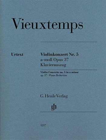 Violin Concerto No. 5 A Minor Op. 37, Op. 37: Violin & Piano (Henle)