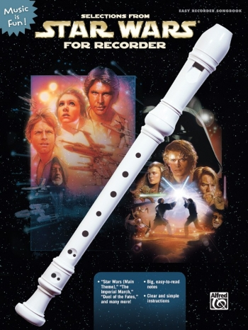 Star Wars Songbook With Easy Instructions: Recorder And Music