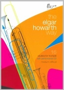 The Elgar Howarth Way:16 Studies For Trumpet  Book & CD (Brasswind)
