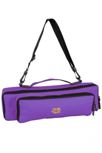 Tom And Will 33FPP Flute & Piccolo Piggyback Case Cover -Purple