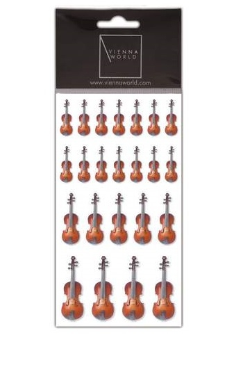 Stickers - Violins