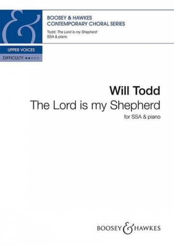 The Lord Is My Shepherd: Vocal: SSA & Piano
