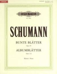 Album Leaves Op.124; Bunte Blätter Op.99: Piano (Peters)