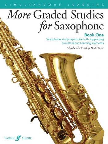 More Graded Studies For Saxophone Book 1: Ed Paul Harris (Faber)