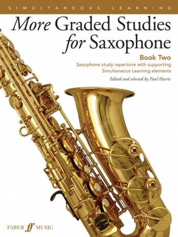 More Graded Studies For Saxophone Book 2: Ed Paul Harris (Faber)