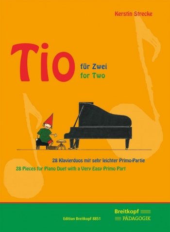 Tio For Two: 28 Pieces For Piano Duet With A Very Easy Primo Part