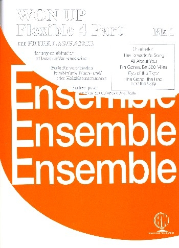Won Up: Book 1 Flexible  Brass Or Woodwind In 4 Parts:  Ensemble: Score And Parts (P Lawra