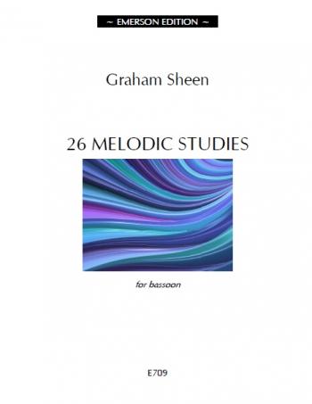 26 Melodic Studies For Bassoon (Graham Sheen)