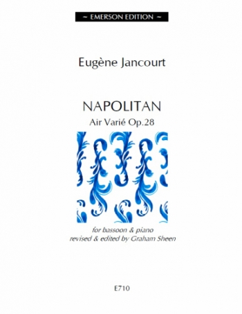 Napolitan Air Varie OP.28: Bassoon & Piano (ed Sheen)