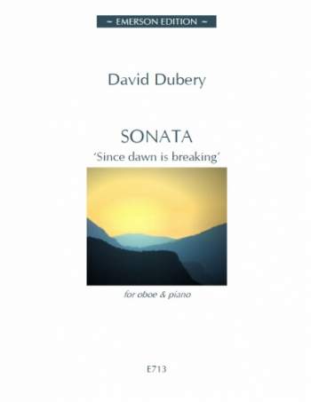 Sonata: Since Dawn Si Breaking: Oboe & Piano  (Emerson)