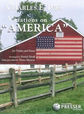 IVariations On America: Violin & Piano (Presser)
