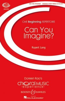 Can You Imagine?: Unison Voices (Boosey)