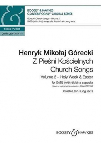 Church Songs (Z Piesni Koscielnych) Vol. 2 (Boosey)