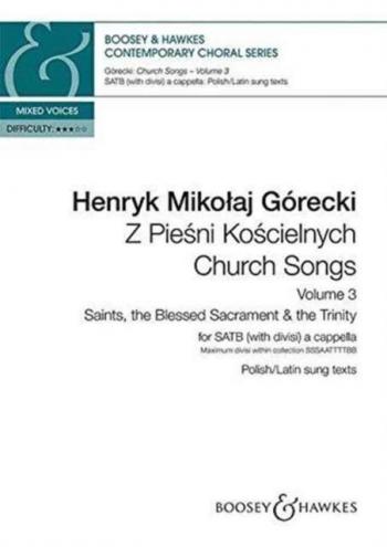 Church Songs (Z Piesni Koscielnych) Vol. 3 (Boosey)