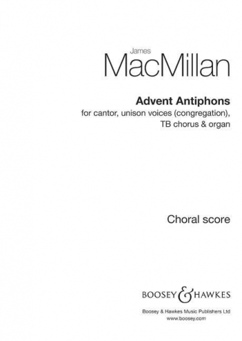 Advent Antiphons (Boosey)