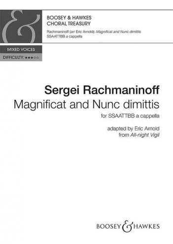 Magnificat and Nunc Dimittis (Boosey)