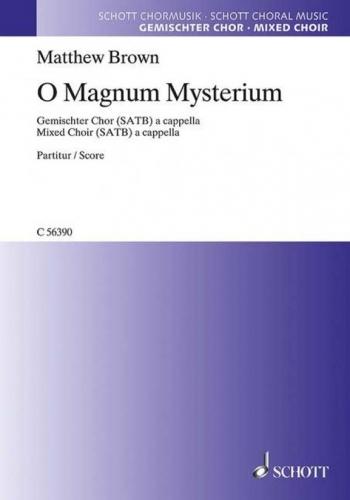 O Magnum Mysterium (Schott)