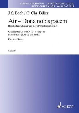 Air - Dona Nobis Pacem: Mixed Choir (SATB) A Cappella (Schott)